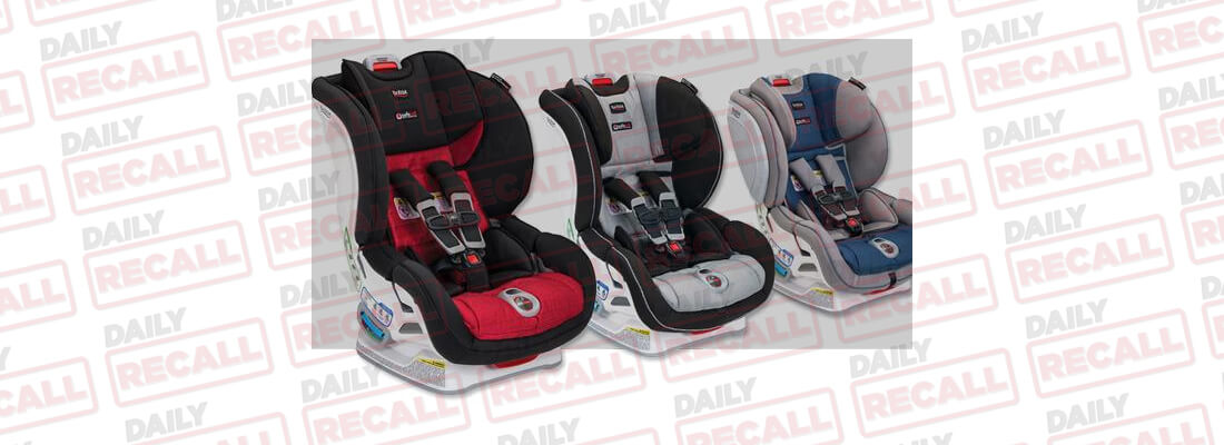 Britax Has Tested And Determined Several Of Their Click Convertible Car Seat Models Could Contain A Defect With The Harness Adjuster On