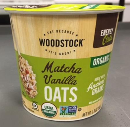 Woodstock Organic Vanilla Oats Recalled - Daily Recall